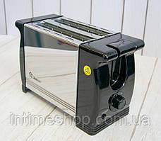 Хороший тостер для дома домотек для хлеба, Domotec MS-3232, с доставкой по Украине и Киеву (TI)