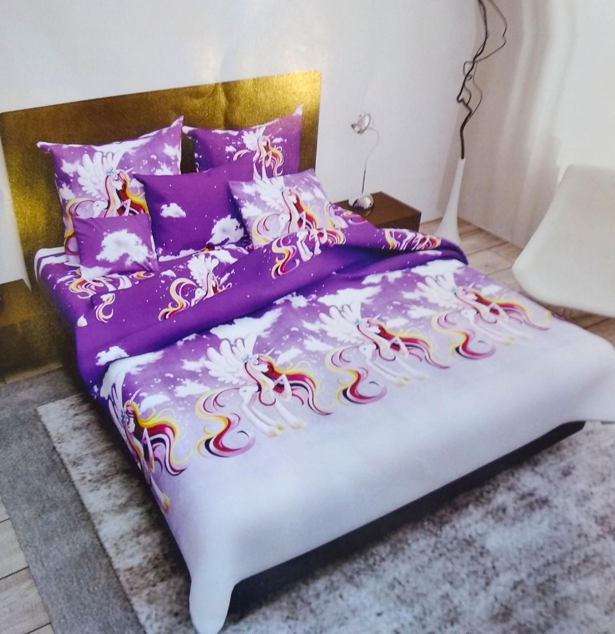 Комплект детского полуторного постельного белья Принцесса Каденс , Бязь Люкс