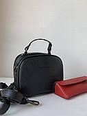 Молодежная мини сумочка черная клатч маленький женский через плечо Pretty Woman