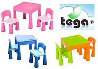Tega Mamut комплект столик и 2 стульчика