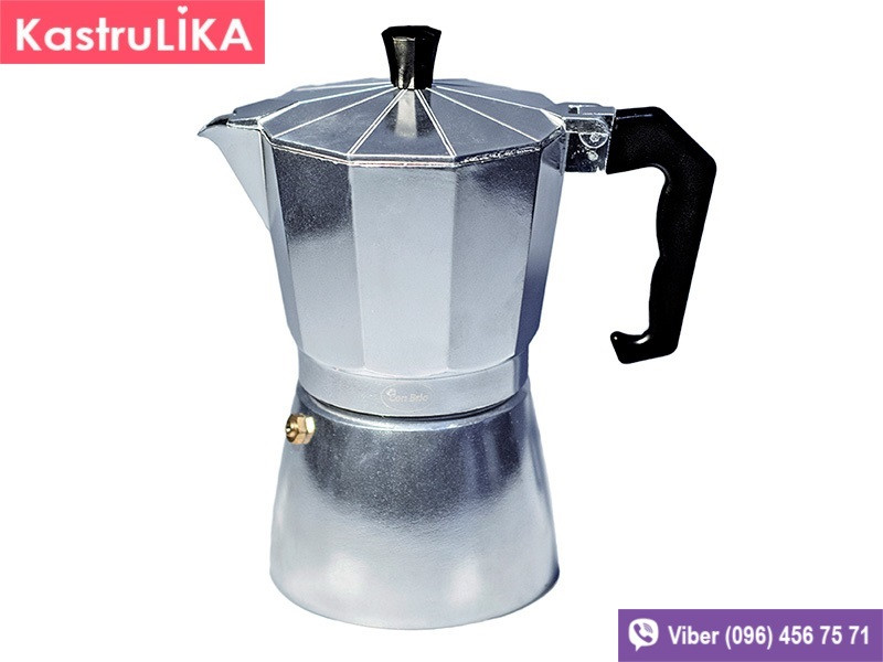 Кофеварка гейзерного типа Con brio 450мл