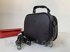 Женская маленькая сумка клатч шоколадная темно-коричневая через плечо Pretty Woman