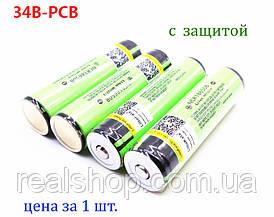 Аккумулятор LiitoKala 34B PCB 3400mAh (с платой защиты) NCR18650B 3.7V (1 шт.)