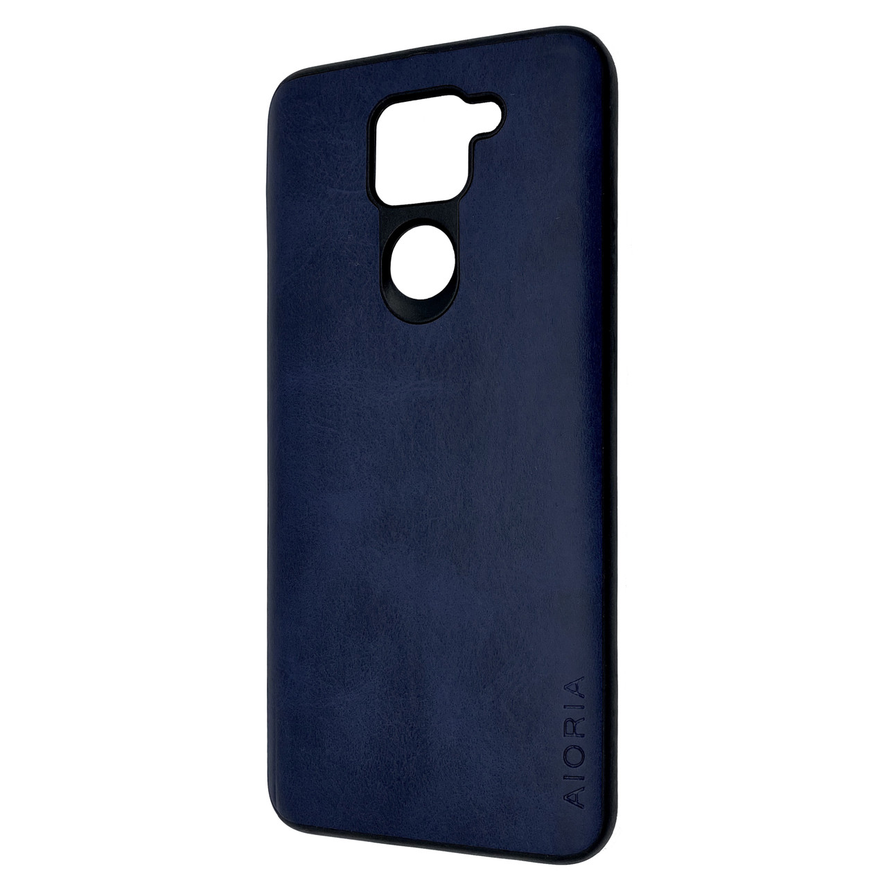 Чехол-накладка DK Silicone Form Leather Aioria для Xiaomi Redmi Note 9 (blue)