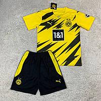 Детская футбольная форма Боруссия Дортмунд домашняя сезон 2020-2021, фото 1