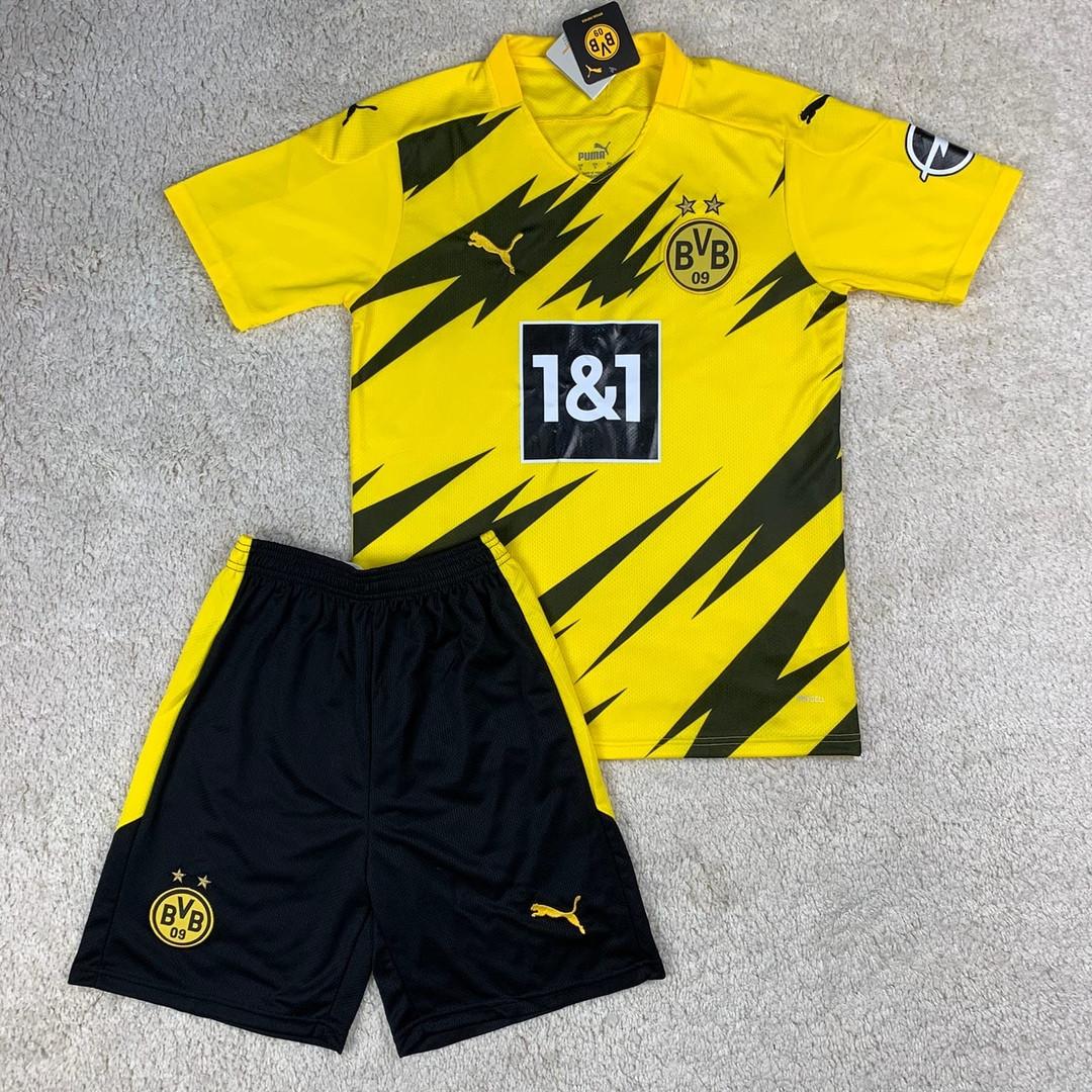 Футбольная форма Боруссия Дортмунд домашняя сезон 2020-2021