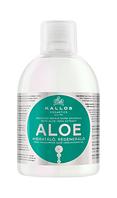 """Увлажняющий шампунь Kallos KJMN1189 """"Алоэ Вера """"для восстановления блеска сухих и поврежденных волос ,1000мл"""