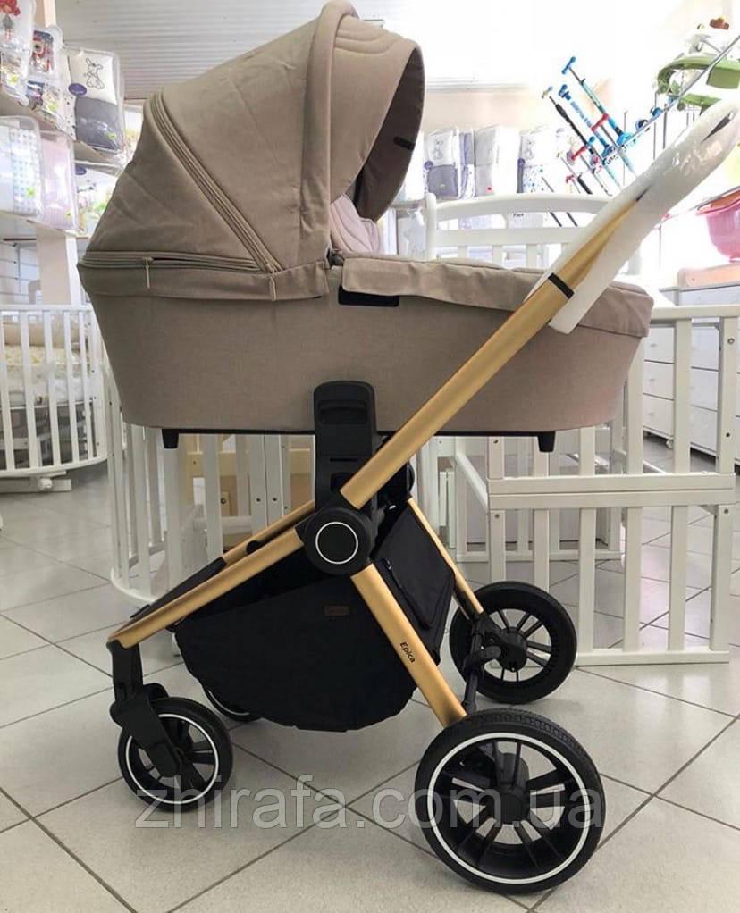 Детская Универсальная коляска 2 в 1 CARRELLO Epica (Каррелло Эпика) Almond Beige