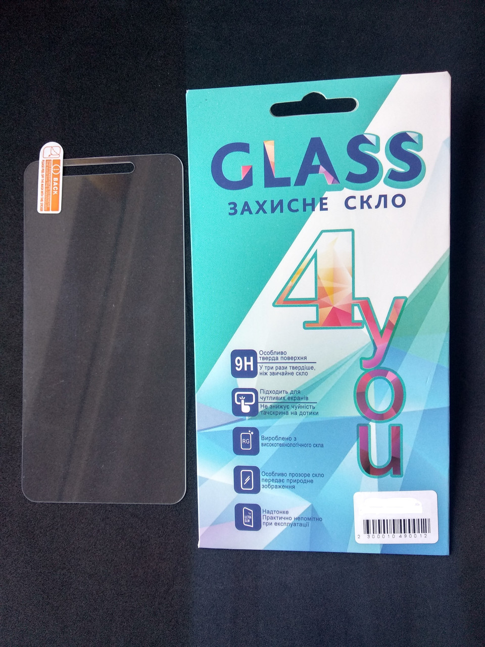 Защитное стекло Samsung A41/A415 2.5D (0.3mm) 4you
