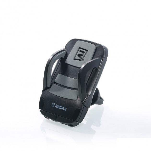 Автодержатель для телефона Holder Remax RM-C13 (в воздуховод) Black/grey
