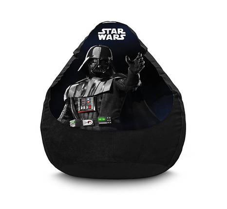 "Кресло мешок ""Star Wars. Darth Vader"" Флок, фото 2"