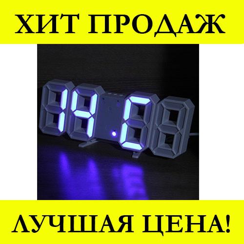 Часы настольные LY 1089 Синие!Хит цена