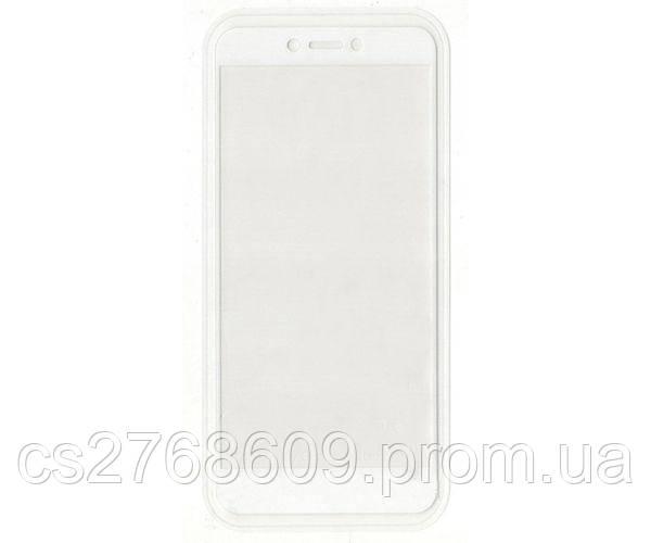 Защитное стекло захисне скло Xiaomi Redmi 4x білий 6D Full