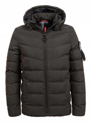 Короткая мужская куртка ХАКИ, фото 2