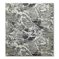 Самоклеющиеся обои под Мрамор кирпич (самоклеющиеся 3d панели для стен оригинал) 700x770x5 мм