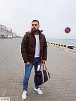 "Зимняя мужская куртка  на холлофайбере  ""Ник"""