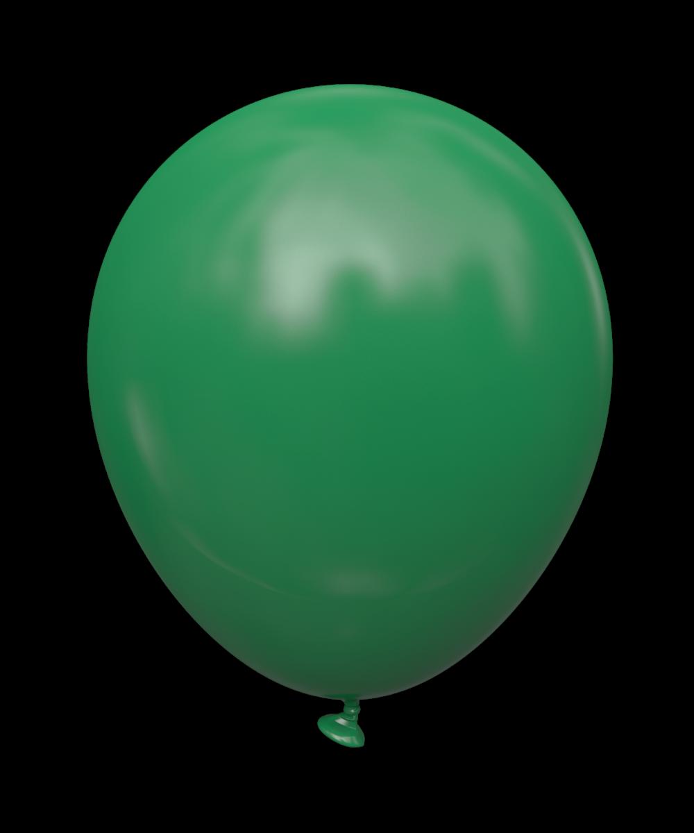 """5 STD Изумрудный (emerald green). Шары воздушные латексные без рисунка 5"""" (100 шт)"""