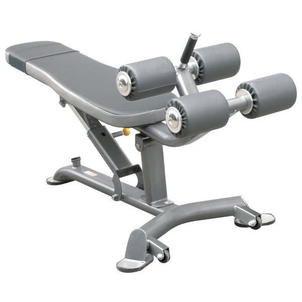 Лавка для пресса с регулируемым углом Impulse Max скамья тренировочная для дома и спортзала