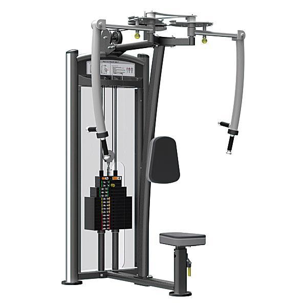 Баттерфляй/задние дельты Impulse Max профессиональный тренажер для дома и спортзала грузовой стек 91 кг