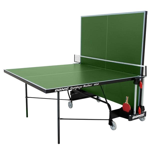 Теннисный стол всепогодный Donic Outdoor Roller 400/ зеленый для дома и спортзала
