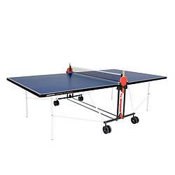 Тенісний стіл для приміщень Donic Indoor Roller Fun/ синій для будинку і спортзалу