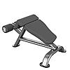 Римский стул для Прессса Impulse Max Скамья для пресса с нагрузкой до 150 кг, фото 2