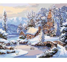 Картина за номерами Ідейка - Зимовий ранок (КНО2244)