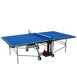 Тенісний стіл для приміщень Donic Indoor Roller 800 синій для будинку і спортзалу