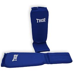 Захист для гомілки і ніг THOR Shin-instep Blue захист ніг для боксу і єдиноборств