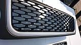 Решітка радіатора + жабри Range Rover Sport 06-10 (сірий+чорний), фото 3
