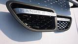 Решітка радіатора + жабри Range Rover Sport 06-10 (сірий+чорний), фото 5