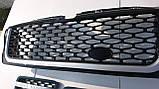 Черная решетка радиатора Range Rover Sport 2005-2009, фото 2