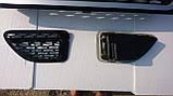 Черная решетка радиатора Range Rover Sport 2005-2009, фото 5