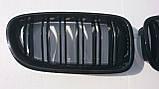 Решітка радіатора ніздрі BMW F10 F11, фото 2