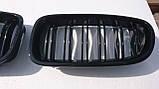 Решітка радіатора ніздрі BMW F10 F11, фото 3