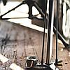 Насос велосипедный Birzman Maha Push & Twist III / напольный / серебро, фото 2