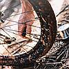 Насос велосипедный Birzman Maha Push & Twist III / напольный / серебро, фото 8