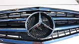 Решетка радиатора Mercedes W212 09-12 Classic, фото 4