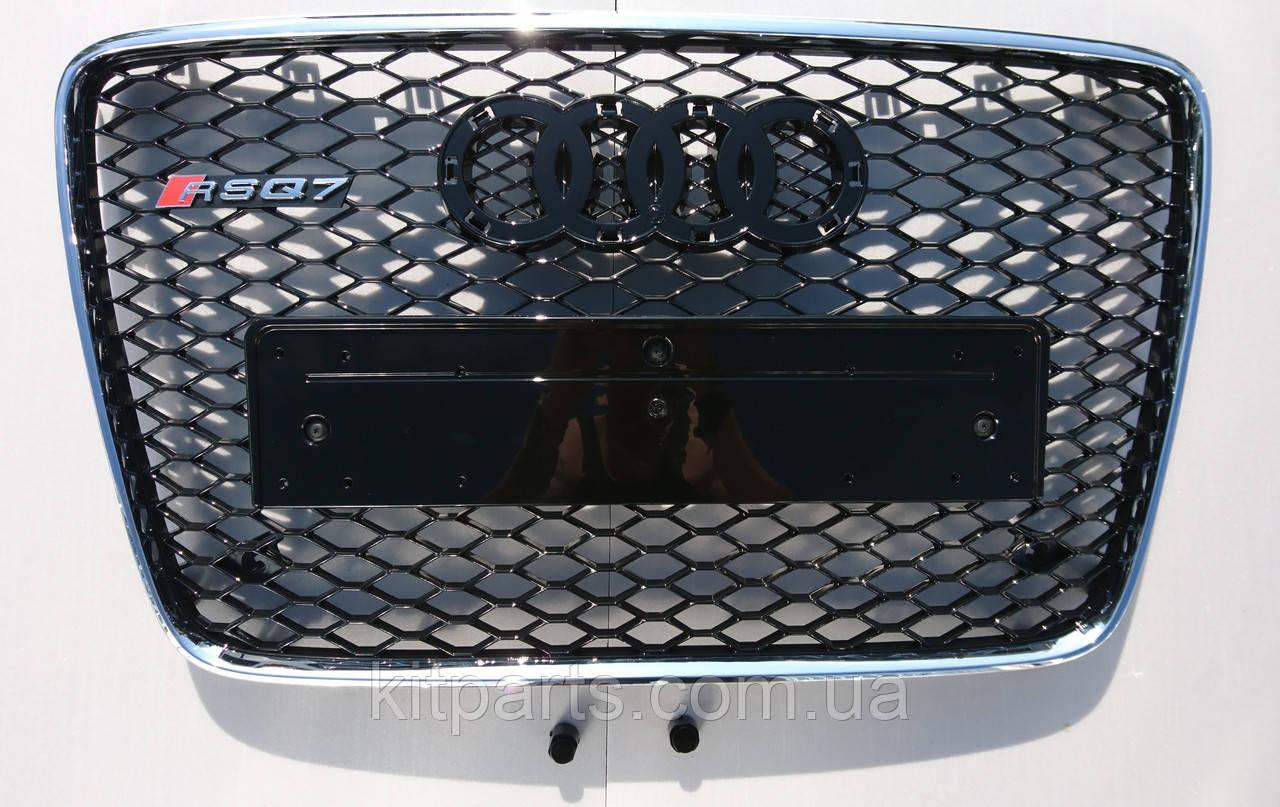 Решітка радіатора Audi Q7 12+ стиль RSQ7