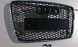 Решітка радіатора Audi Q7 12+ стиль RSQ7, фото 3