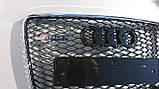 Решітка радіатора Audi Q7 12+ стиль RSQ7, фото 4