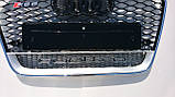 Решетка радиатора Audi A6 стиль RS6 12+, фото 3
