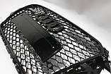 Решітка радіатора Audi A3 стиль RS3 Black 12-15, фото 6