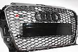 Решітка радіатора Audi A3 стиль RS3 12-15, фото 2