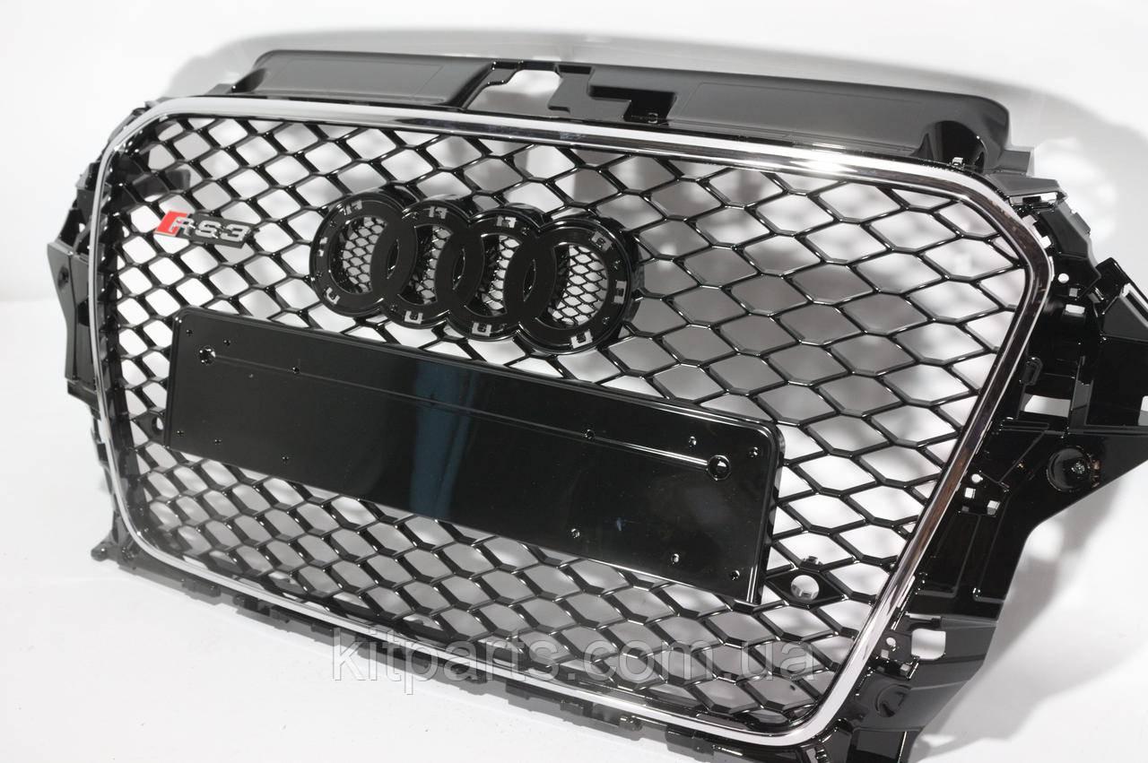 Решітка радіатора Audi A3 стиль RS3 12-15
