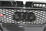 Решетка радиатора Audi A3 стиль RS3 Black Quattro 8-12, фото 4