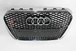Решетка радиатора стиль RS5 на Audi A5 12-15, фото 2