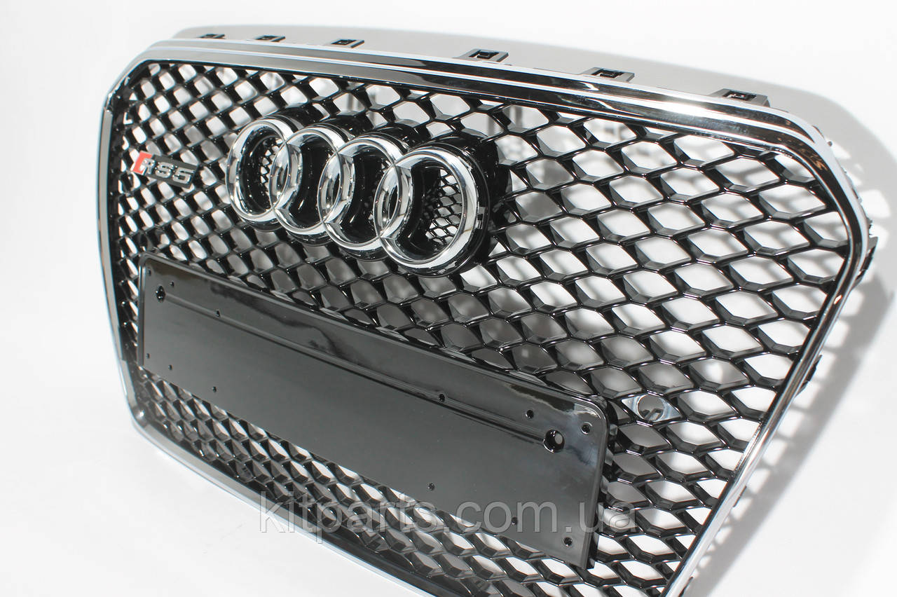 Решетка радиатора стиль RS5 на Audi A5 12-15