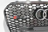 Решетка радиатора стиль RS5 на Audi A5 12-15, фото 4