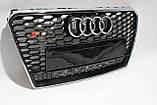 Решетка радиатора стиль RS7 для Audi A7 12-15, фото 3